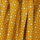 Tissu Coton Cretonne Mosaïque - Moutarde