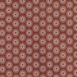 Tissu Popeline Coton Umbrella - Rouge brique