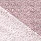Tissu Coton Cretonne Fleuri Leonie - Rose & Gris