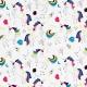 Tissu jersey Licornes - Blanc