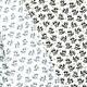 Tissu Jersey Raton Laveur - Blanc
