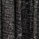 Tissu Satin de Coton Mathématique - Noir