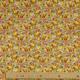 Tissu Coton Cretonne Ginkgo - Moutarde