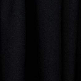 Tissu Burlington - Noir