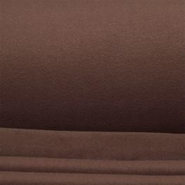 Tissu polaire uni - Brun