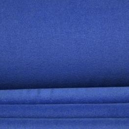 Tissu polaire uni - Bleu