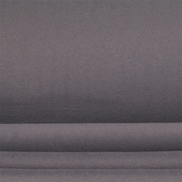 Tissu polaire uni - Gris nickel