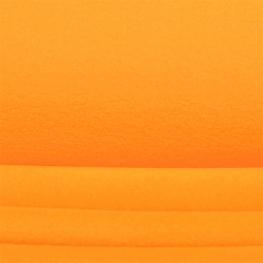 Tissu polaire uni - Jaune orangé