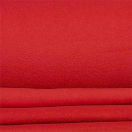 Tissu polaire uni - Rouge
