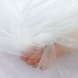 Tissu voile Biodégradable Contact Alimentaire - Transparent