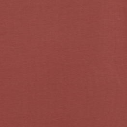 Tissu Jersey Uni - Rouge terracotta