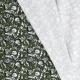 Tissu Jersey Graph - Vert kaki