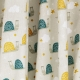 Tissu Coton Cretonne Arnaud l'Escargot - Gris clair
