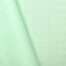 Tissu lange 100% coton - Vert menthe