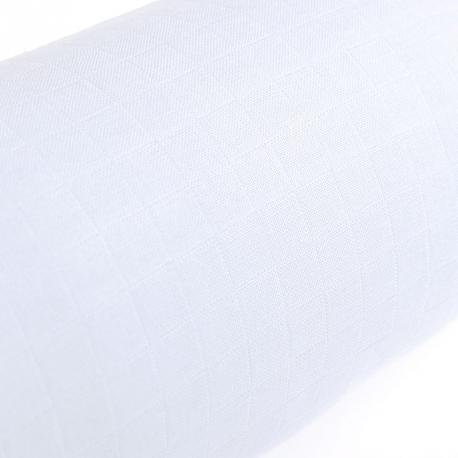 Tissu lange 100% coton - Bleu ciel