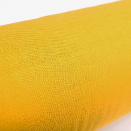 Tissu lange 100% coton - Moutarde