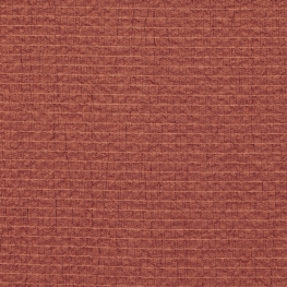 Tissu Rayonne Crépon - Rouge terracotta