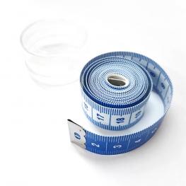 Mètre ruban - Bleu & Blanc