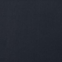 Tissu Popeline Bio Uni - Bleu marine