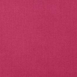 Tissu Popeline Bio Uni - Framboise