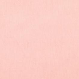 Tissu Popeline Bio Uni - Rose poudré