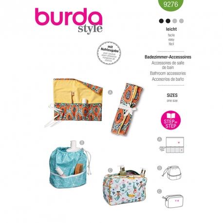 Accessoires de salle de bains, Burda 9276