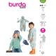 Combinaison + chapeau, Burda 9279
