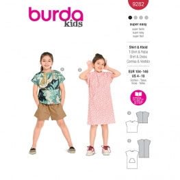 T-shirt, robe, Burda 9282