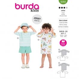 T-shirt, robe, Burda 9284