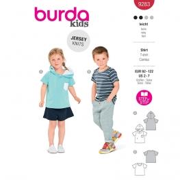 T-shirt, Burda 9283