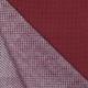 Tissu Popeline Petits Ronds - Rouge & Bleu