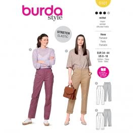Pantalon, Burda 6101