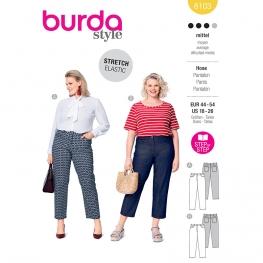 Pantalon, Burda 6103