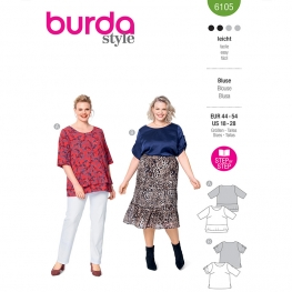 Blouse, Burda 6105