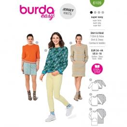 Sweat-shirt, Burda 6109
