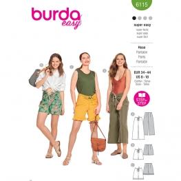 Pantalon, Burda 6115