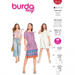 Top, robe, Burda 6117