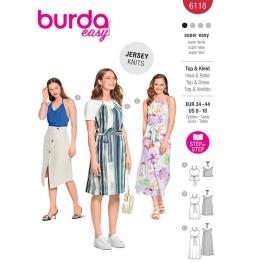 Top, robe, Burda 6118
