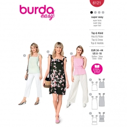 Top, robe, Burda 6121
