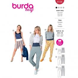 Pantalon, Burda 6124