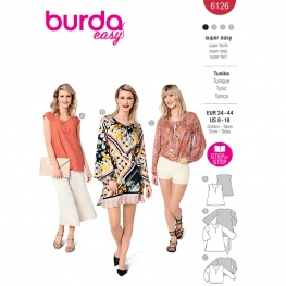 Tunique, Burda 6126