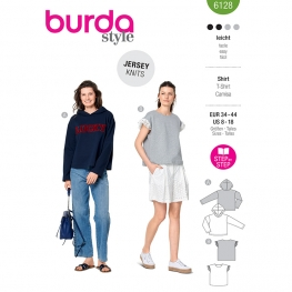 Sweat-shirt, Burda 6128