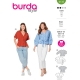 Blouse, Burda 6135