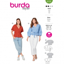 Blouse, Burda 6135