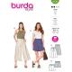 Jupe-culotte, short, Burda 6138
