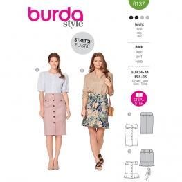 Jupe, Burda 6137