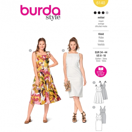 Robe, Burda 6140