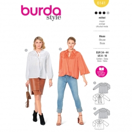 Blouse, Burda 6141