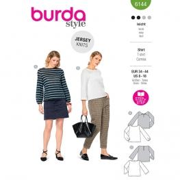T-shirt, Burda 6144