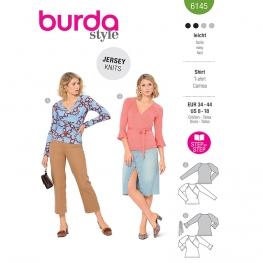 Top croisé, Burda 6145